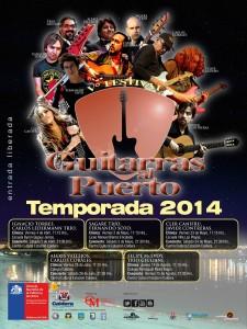 """Afiche """"Guitarras al Puerto"""""""