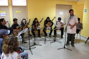 Conjunto de Guitarras de la Facultad de Arte UPLA