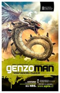 Afiche charla Genzoman