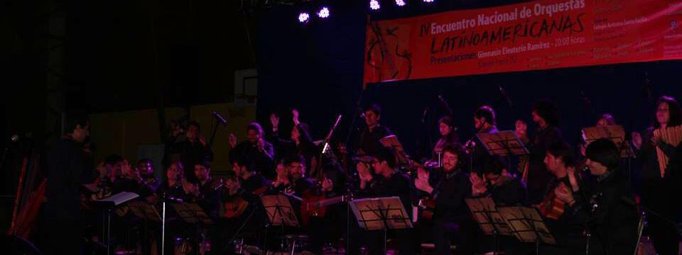 Abya Yala participó en IV Encuentro Nacional de Orquestas Latinoamericanas en Osorno