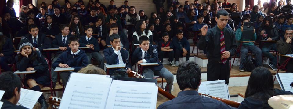 Con gran marco de público se inició la XXVII Temporada de Conciertos en la UPLA