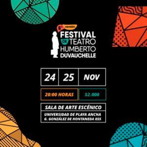 Afiche Obras Humberto Duvauchelle