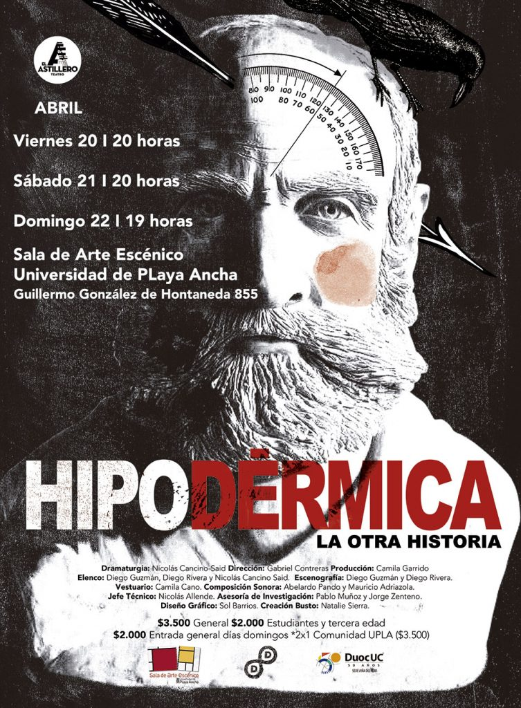 Afiche Hipodérmica