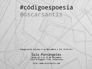 Afiche Oscar Santis
