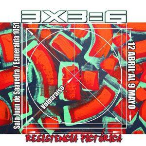 """Exposición """"3 x 3"""""""