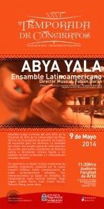 Afiche Abya Yala 2014