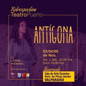 Afiche Antígona