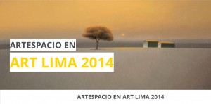 """Afiche feria """"ArtLima"""" 2014"""