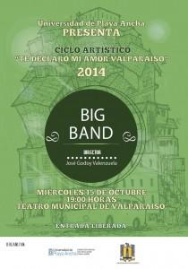 Afiche Big Band TMV-2014