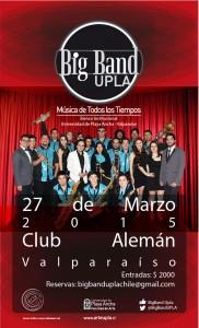 Afiche Big Band UPLA