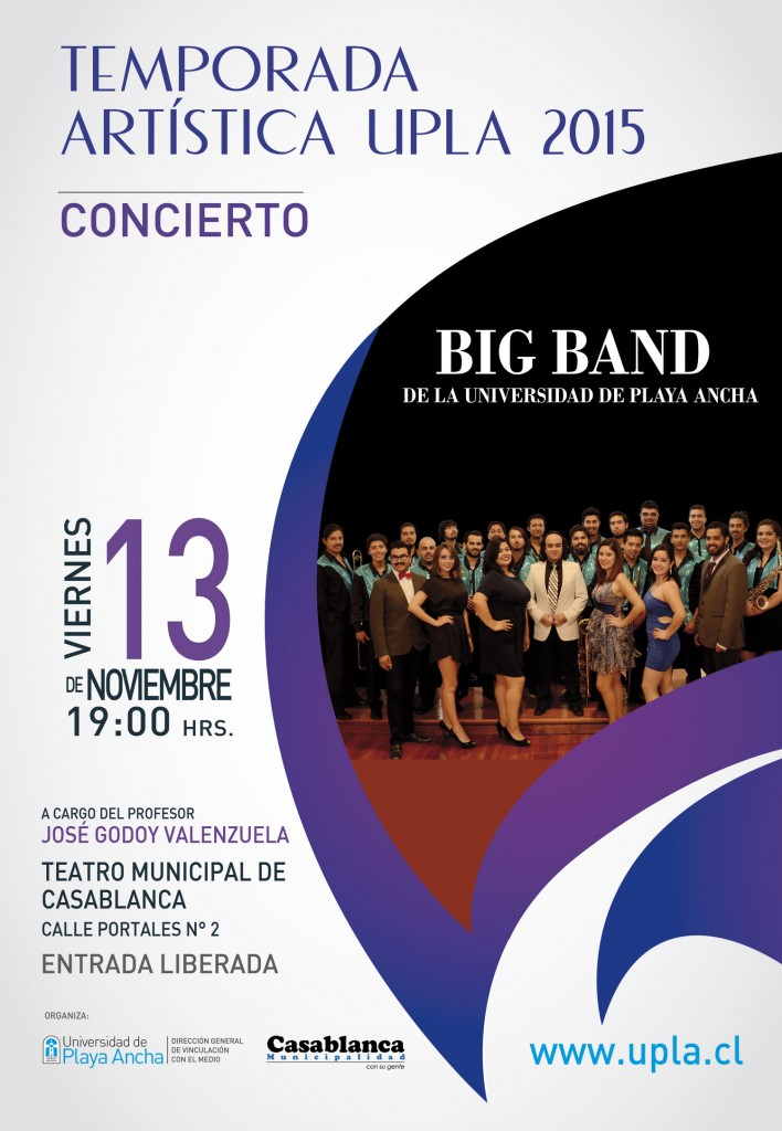 Afiche Big Band