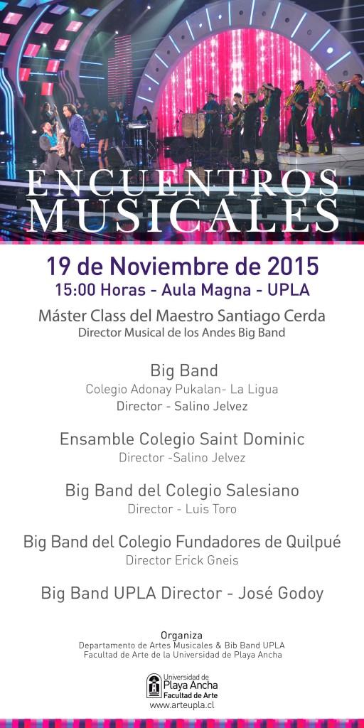 Afiche Big Band