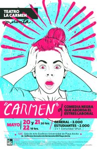 "Afiche ""Carmen"""