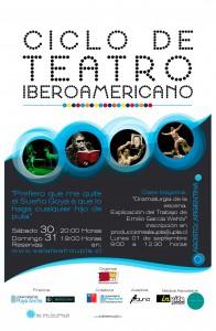 Afiche Ciclo de Teatro Iberoamericano