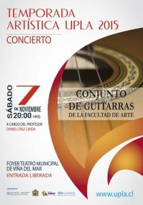 Afiche Conjunto de Guitarras