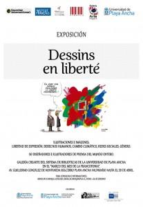"""Afiche """"Dessins en liberté"""""""