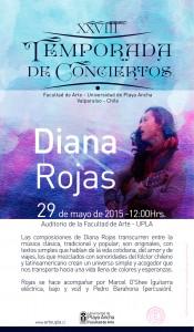 El concierto está fijado para el viernes 29 de mayo a las 12.00 horas
