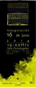 """Afiche """"Efecto de Enseñanza"""""""