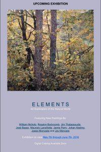 """Afiche """"Elements"""""""
