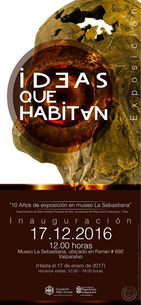 """Afiche """"Ideas que Habitan"""""""