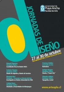 Afiche Jornadas de Diseño