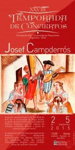 Afiche Josef Campderrós