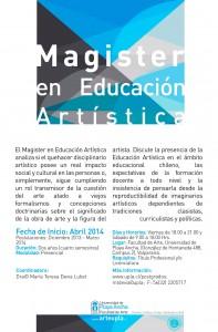 Afiche Mg Ed Artística
