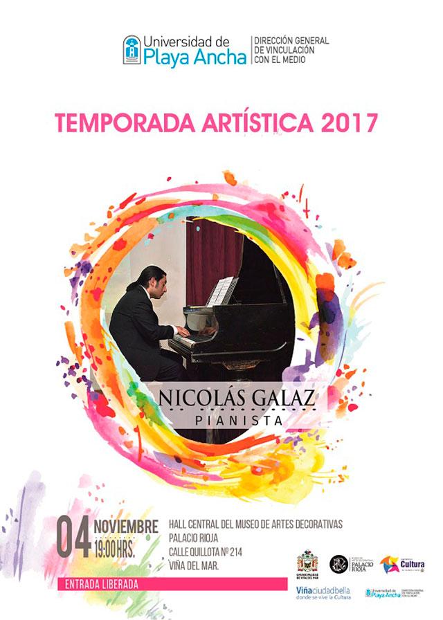 Afiche Nicolás Galaz