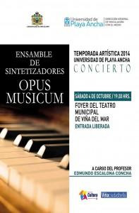 Afiche Opus Musicum