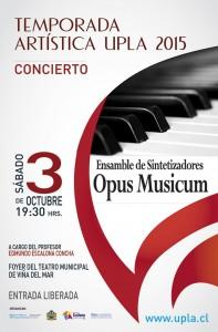 "Afiche ""Opus Musicum"""