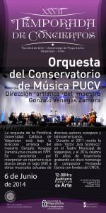 Afiche Orquesta PUCV