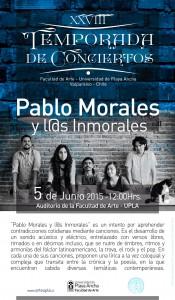 Afiche Pablo Morales