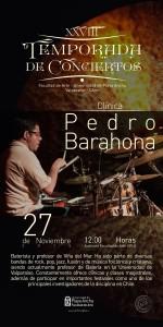 Afiche Pedro Barahona