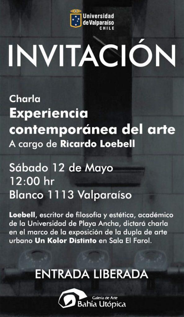 Afiche Ricardo Loebell