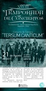 Afiche Tersum Canticum
