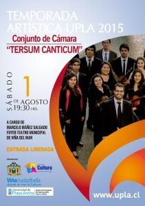 La agrupación de la Facultad de Arte se presentará el 1 de agosto en el Foyer del Teatro Municipal de Viña del Mar