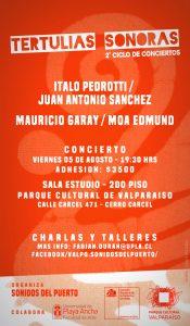 """Afiche """"Tertulias Sonoras"""""""