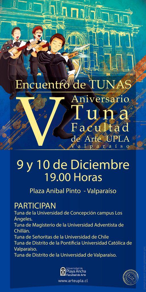 Afiche Tuna Facultad de Arte