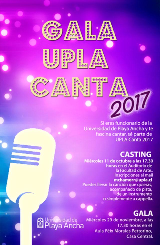Afiche UPLA Canta
