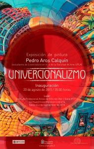 """Afiche """"Univercionalizmo"""""""