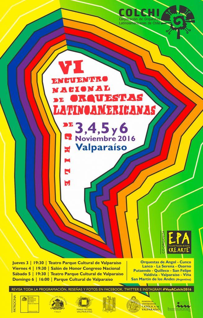 Afiche VI Encuentro Latinoamericano