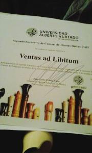 Afiche Ventus ad Libitum