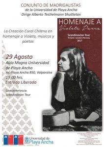 Afiche concierto Madrigalistas
