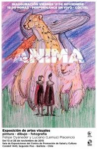 Afiche expo ANIMA
