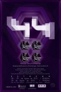 Afiche obra 44