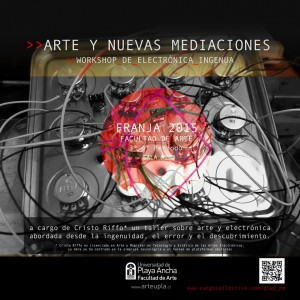 """Taller """"Arte y nuevas mediciones: Workshop de electrónica ingenua"""""""