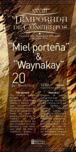 Afiche Waynakay