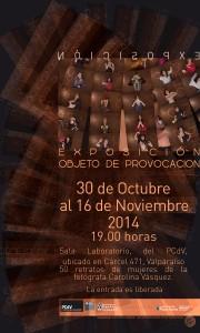 """Afiche """"Objeto de provocación"""""""