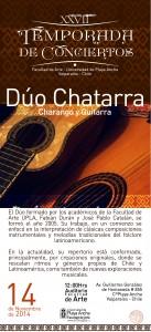 "Afiche ""Dúo Chatarra"""