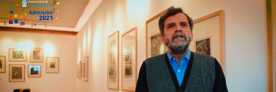 Decano Alberto Madrid invita a jóvenes de la región y del país a ser parte de la Facultad de Arte